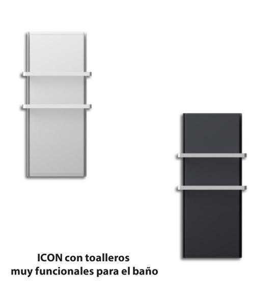 ICON radiador tambien para el baño con barra porta toallas
