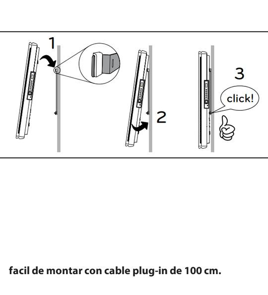 facil de montar ICON radiador vertical
